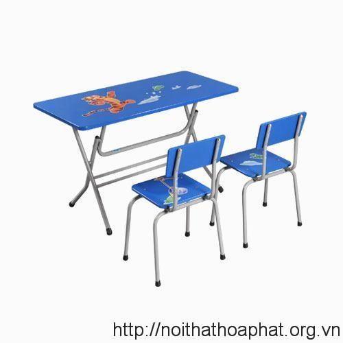 Bàn ghế mẫu giáo GMG101A-1 + BMG101A-1
