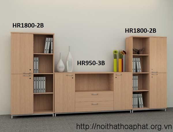 Bộ tủ hồ sơ HR1800-2B + HR950-3B