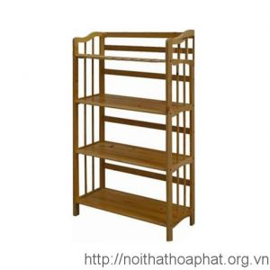 Giá sách gỗ tự nhiên TGS104