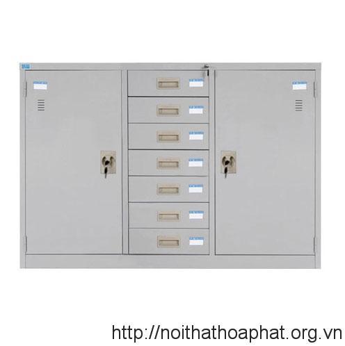 Tủ tài liệu sắt TU118-7DB