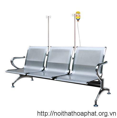 Ghế băng chờ cọc truyền GPC02-3CT