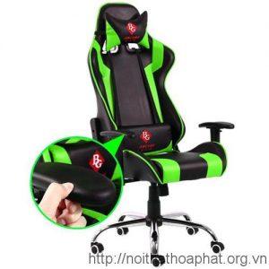 Ghế game thủ GC01 màu xanh