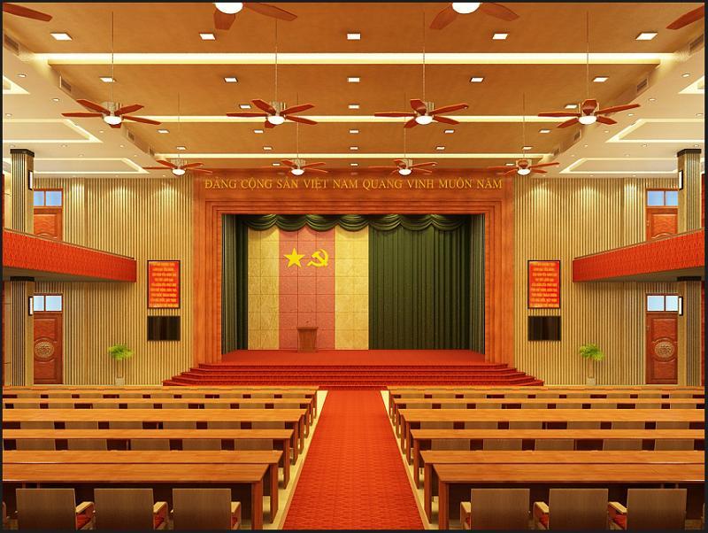 Bàn ghế hội trường Hòa Phát – Bàn hội trường – Ghế hội trường nhiều mẫu đẹp