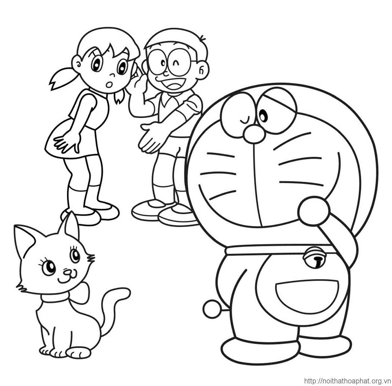 tranh tô màu cho bé từ 1 - 6 tuổi cho bé tập tô