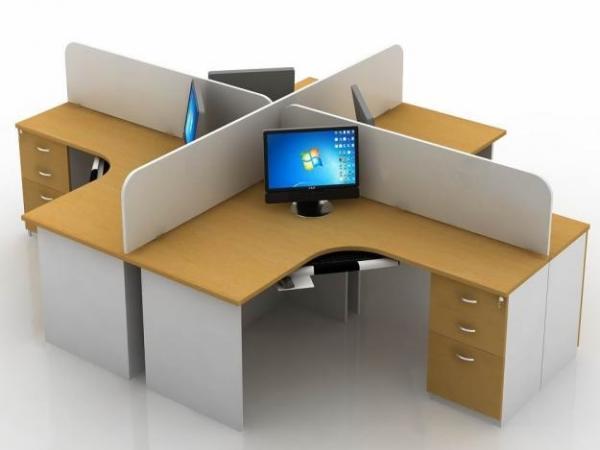 Vách ngăn gỗ văn phòng Hòa Phát giá rẻ tại TPHCM