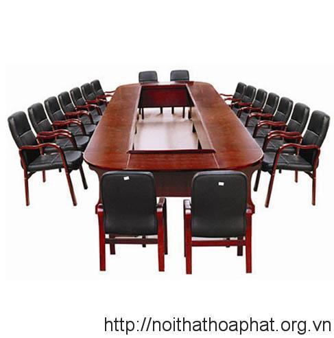 Báo giá bộ bàn ghế phòng họp Hòa Phát chất lượng