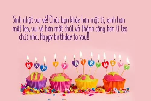lời chúc sinh nhật bạn hay ý nghĩa