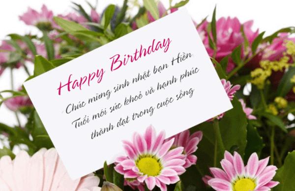 lời chúc sinh nhật dành cho bạn thân
