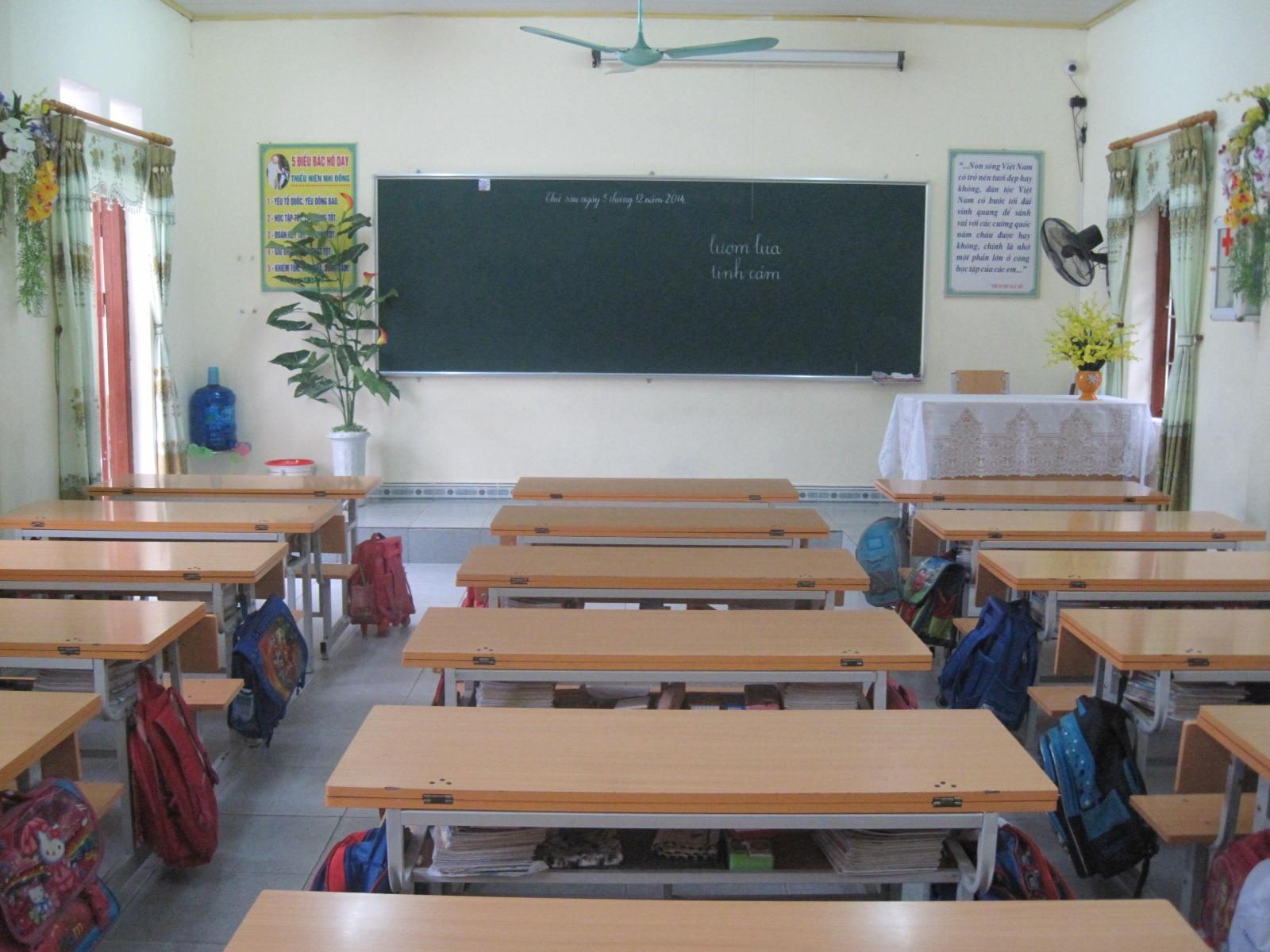 Ghế Liền Bàn Học Sinh Sản Phẩm Nội Thất Đa Năng Tiện Nghi Khi Sử Dụng