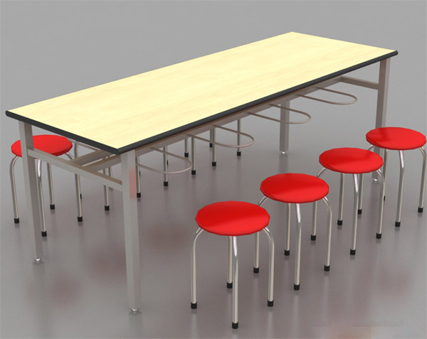 bàn ăn công nghiệp