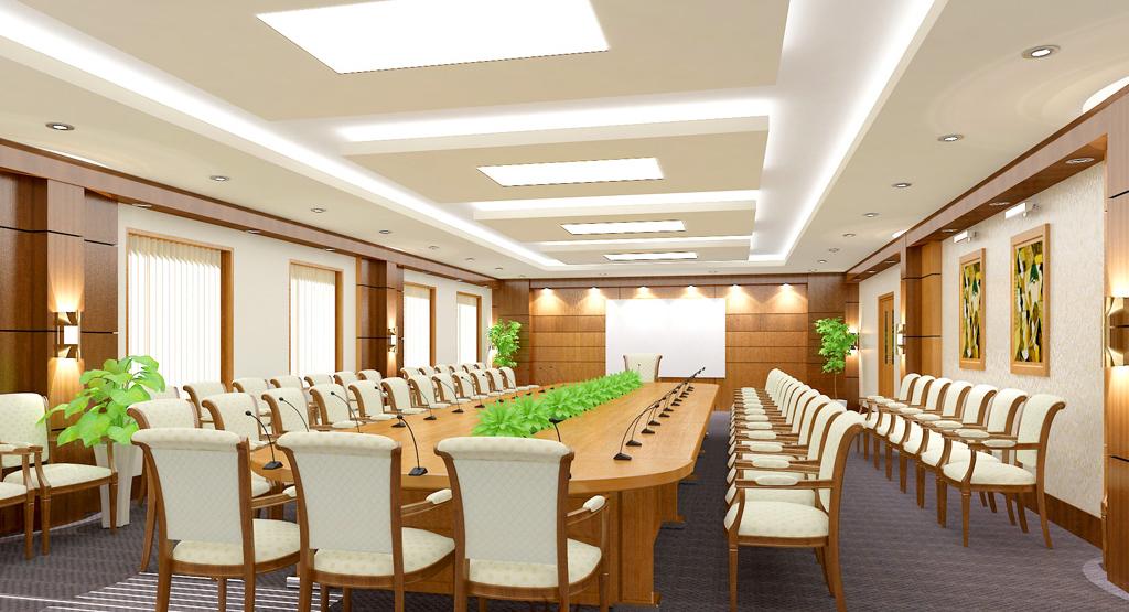 Bàn họp gỗ Hòa Phát – Mẫu bàn họp cao cấp hiện nay