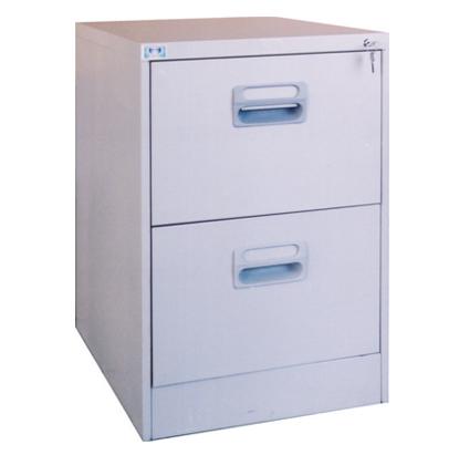 Thiết kế tủ sắt 2 ngăn làm tủ đựng hồ sơ, tài liệu gọn nhẹ nhất