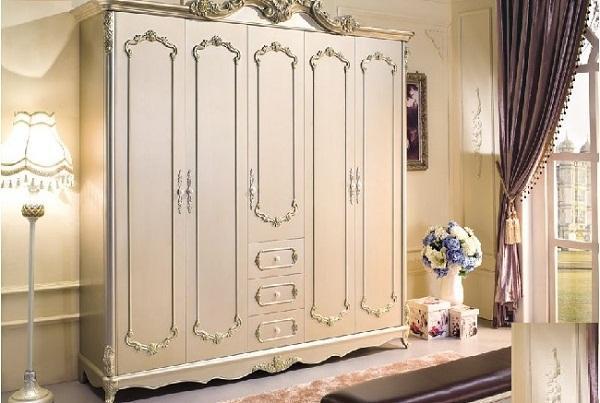 3 Thiết kế tủ sắt đựng quần áo gia đình 4 buồng tiện lợi nhất